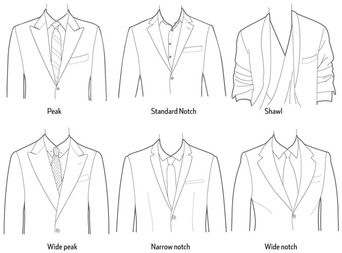 Style Glossary Lapels