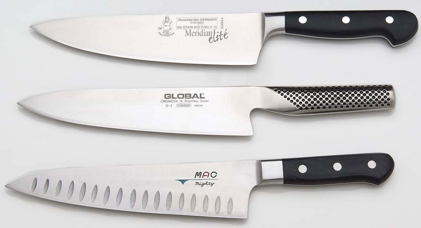 Chef's Knives Shapes