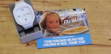 Flex Watches Making Time to Fight Hunger