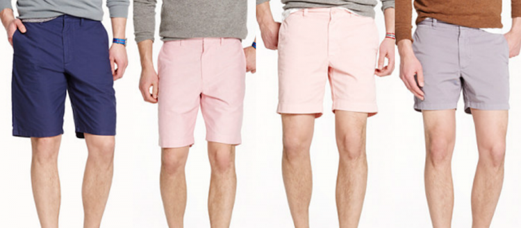 How men should wear shorts