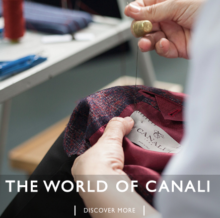 Canali Made in Italy Suiting