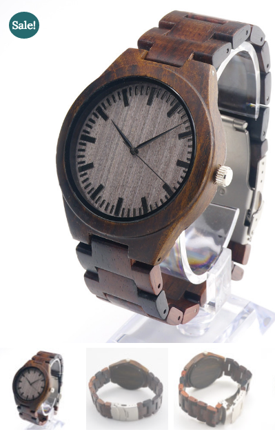 The Gent Wooden Watch by Little Oak