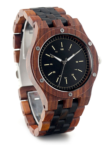 The Boss Wooden Watch by Little Oak - The Sharp Gentleman