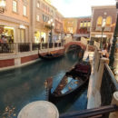 Gondolas at the Venetian Canals