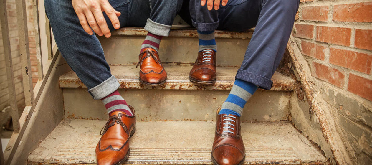 Dress Socks that Don't Slip Down – DeadSoxy – The Sharp Gentleman