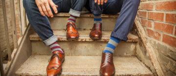Dress Socks that Don't Slip Down – DeadSoxy – The Sharp Gentleman
